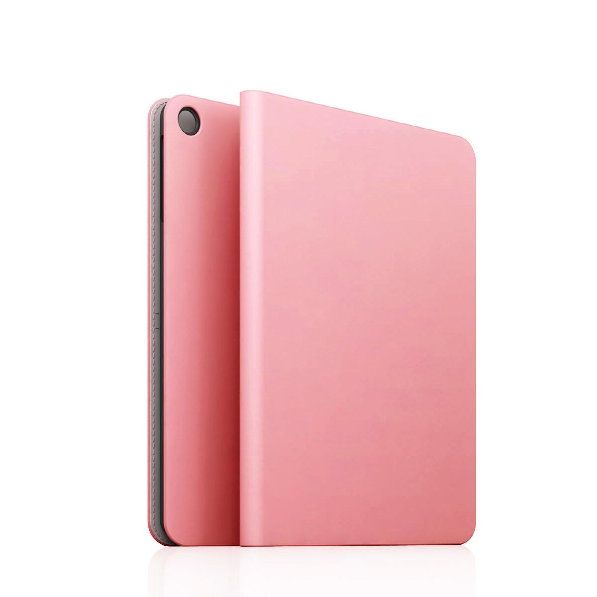 [iPad Air] D5 Calf Skin Leather Diary ベビーピンク