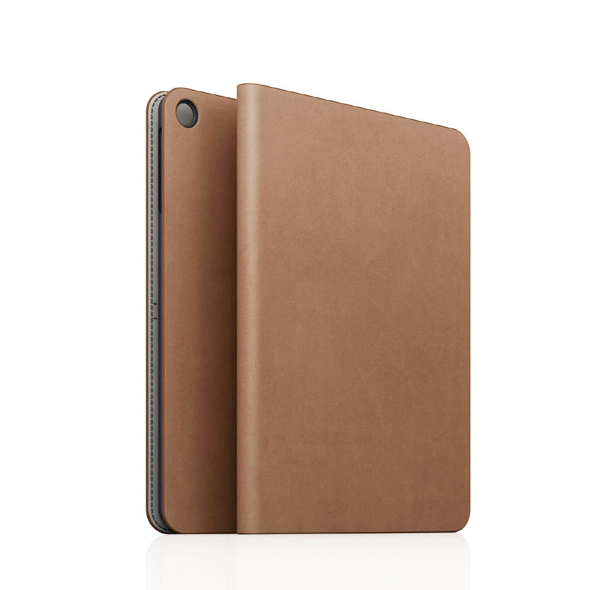 [iPad Air] D5 Calf Skin Leather Diary ベージュ