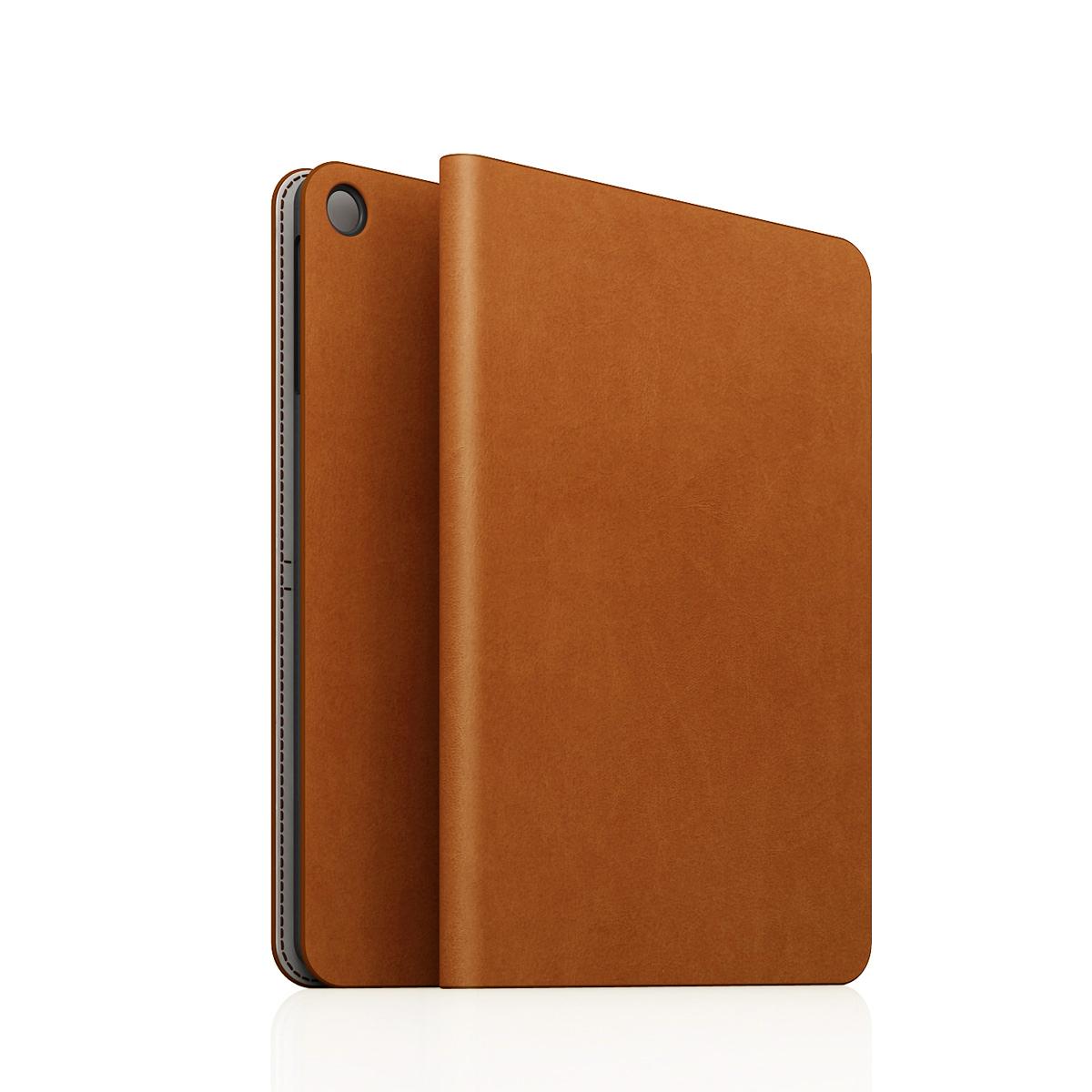 [iPad Air] D5 Calf Skin Leather Diary タンブラウン