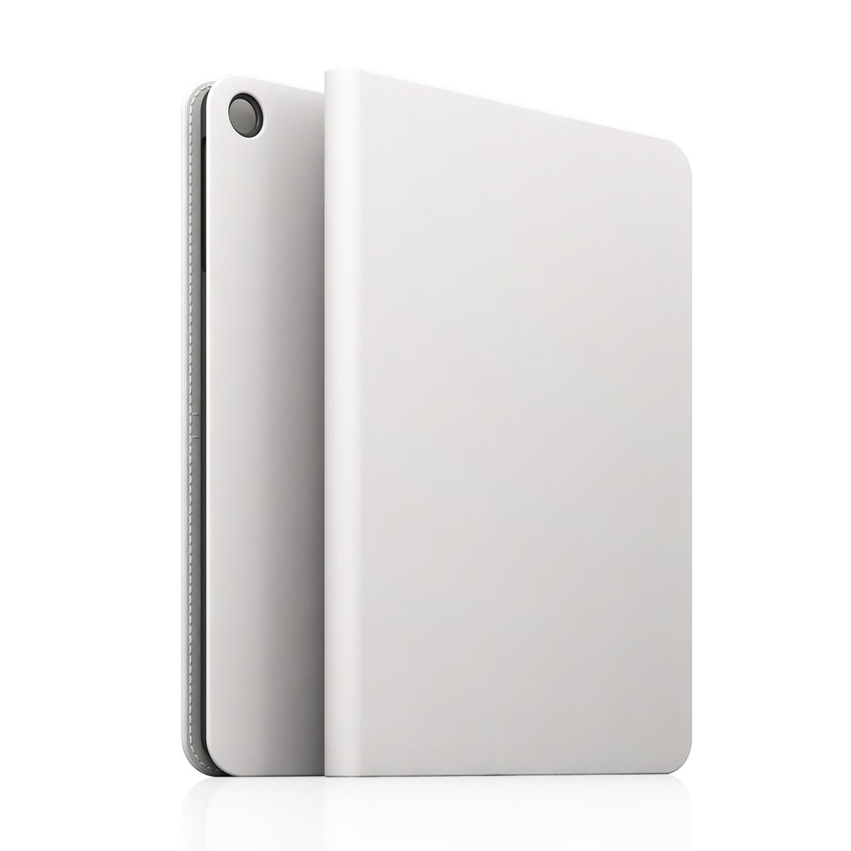 [iPad Air] D5 Calf Skin Leather Diary ホワイト