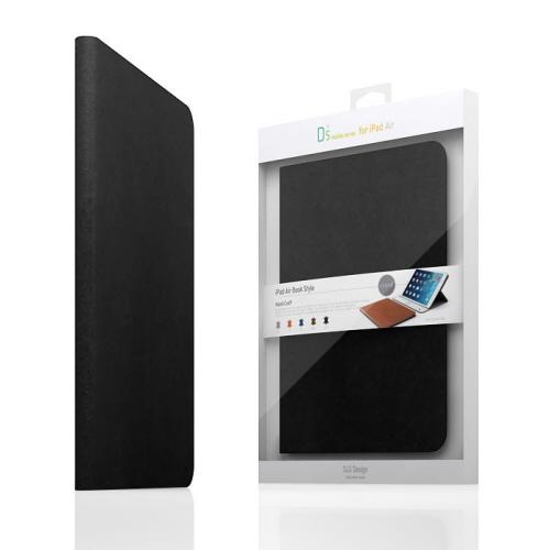 【iPad Air 2 ケース】SLG Design D5 CAL Diary ブラック (エスエルジ・デザイン D5 シー・エー・エルダイアリー)