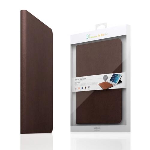 【iPad Air 2 ケース】SLG Design D5 CAL Diary ダークブラウン (エスエルジ・デザイン D5 シー・エー・エルダイアリー)