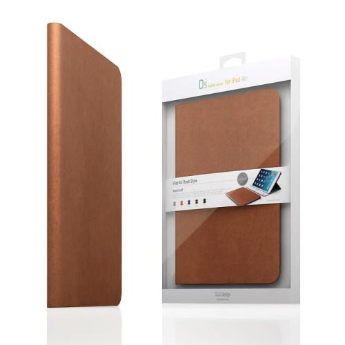 【iPad Air 2 ケース】SLG Design D5 CAL Diary タンブラウン (エスエルジ・デザイン D5 シー・エー・エルダイアリー)