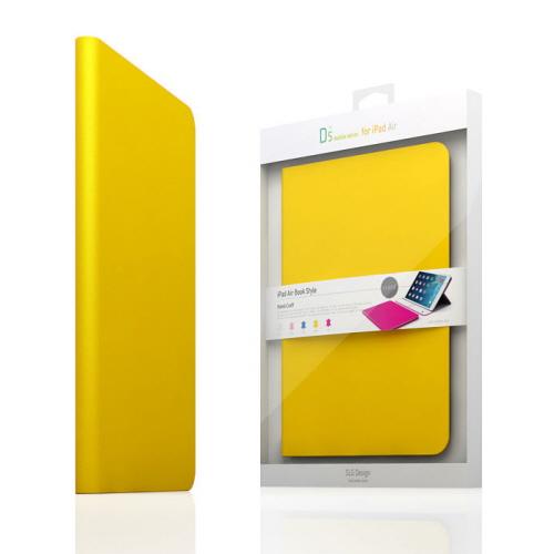 【iPad Air 2 ケース】SLG Design D5 CAL Diary イエロー (エスエルジ・デザイン D5 シー・エー・エルダイアリー)