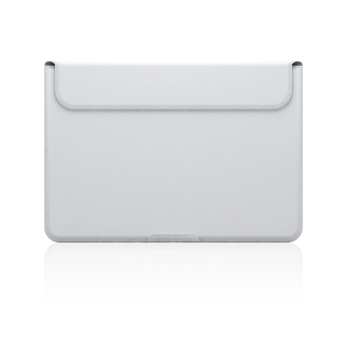 【MacBook 12インチ スタンドケース】 D5 Artificial Leather ホワイト(ディーファイブ アーティフィシャルレザー)