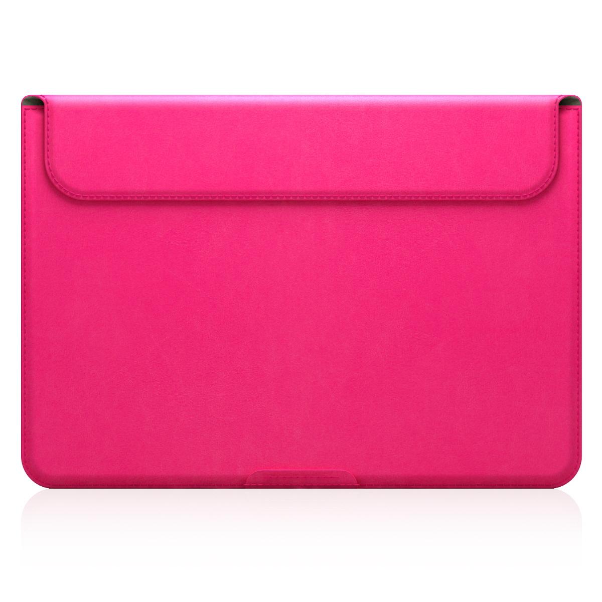 【MacBook 12インチ スタンドケース】 D5 Artificial Leather ピンク(ディーファイブ アーティフィシャルレザー)