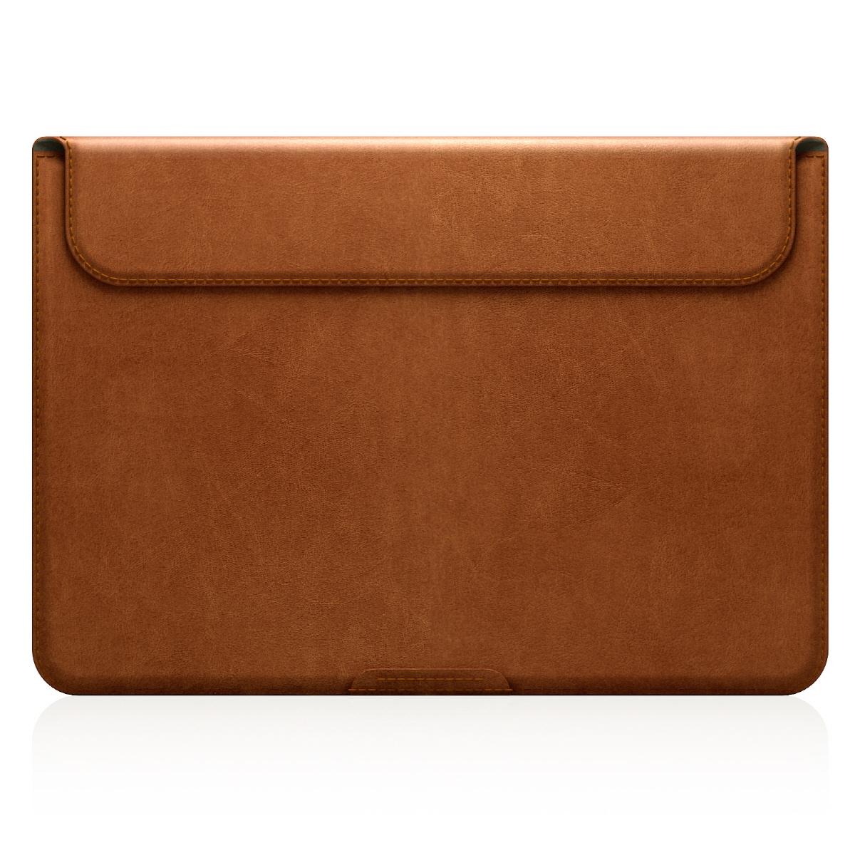 【MacBook 12インチ スタンドケース】 D5 Artificial Leather タンブラウン(ディーファイブ アーティフィシャルレザー)