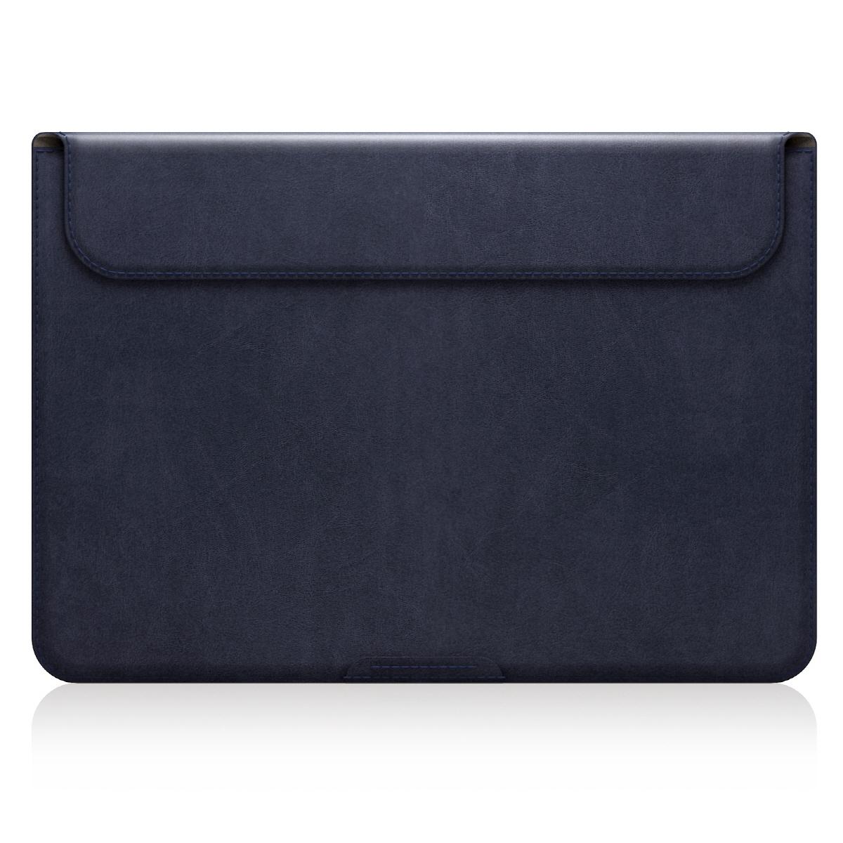 【MacBook 12インチ スタンドケース】 D5 Artificial Leather ネイビー(ディーファイブ アーティフィシャルレザー)