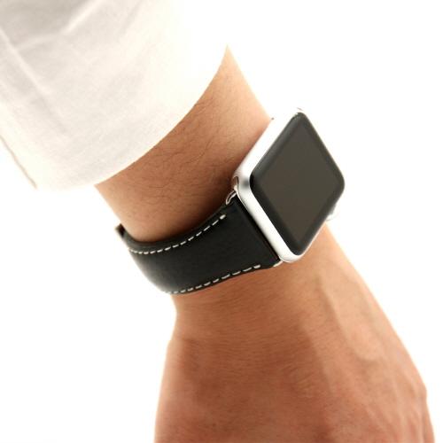 Apple Watch バンド 42mm用(Series 1,Series 2 対応) D6 IMBL ブラック(ディーシックス アイエムビーエル)