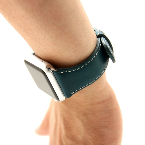 Apple Watch バンド 42mm用(Series 1,Series 2 対応)D6 IMBL グリーン(ディーシックス アイエムビーエル)