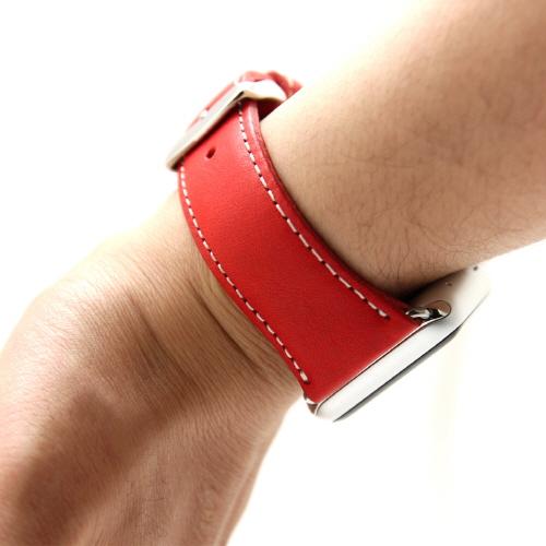 Apple Watch バンド 42mm用(Series 1,Series 2 対応) D6 IMBL レッド(ディーシックス アイエムビーエル)