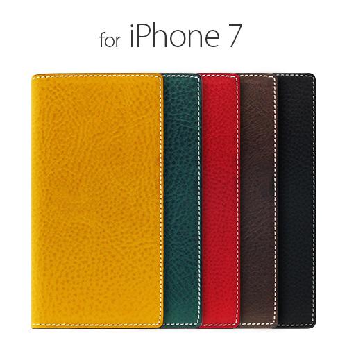 iPhone7 ケース 手帳型 SLG Design Minerva Box Leather Case