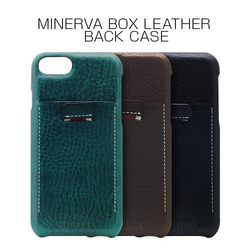 iPhone 8 / 7 ケース カバー SLG Design Minerva Box Leather Back Case