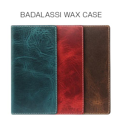iPhone 8 / 7 ケース 手帳型 SLG Design Badalassi Wax case