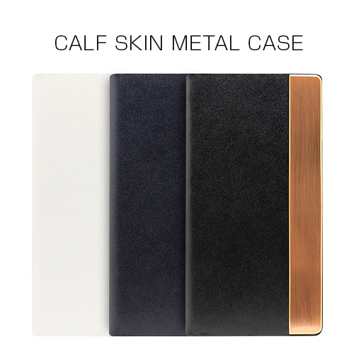 iPhone 8 / 7 ケース 手帳型 SLG Design Calf Skin Metal Case