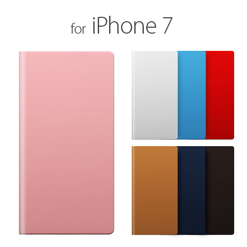 iPhone7 ケース 手帳型 SLG Design Calf Skin Leather Diary