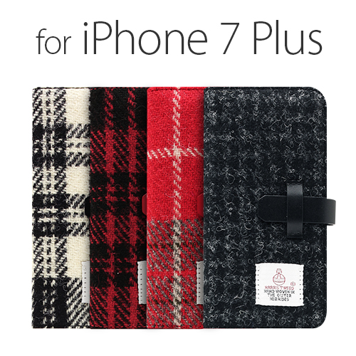 iPhone7 Plus SLG Design Harris Tweed Diary