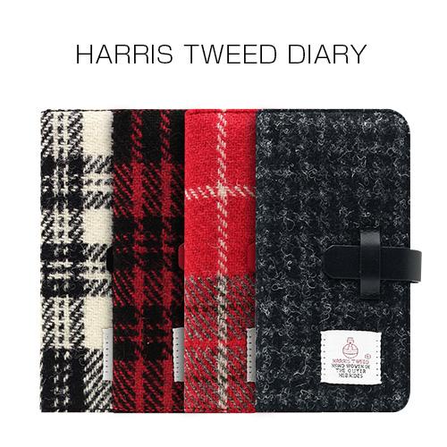 iPhone 8 Plus / 7 Plus ケース SLG Design Harris Tweed Diary