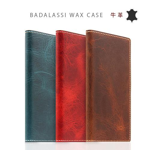 iPhoneX ケース 手帳型 本革 SLG Design Badalassi Wax case