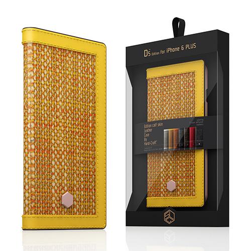 60344ae2a6 【iPhone6s Plus/6 Plus ケース】 SLG Design D5 Edition Calf Skin Leather Diary  イエロー (D5 エディション カーフスキンレザーダイアリー)